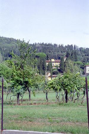 Italy 1993: Fiesole - I Tatti, home of Bernard Berenson outside Florence.