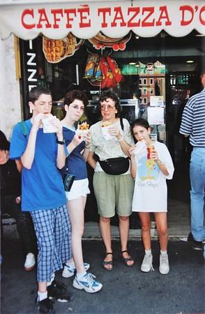Italy 1999 classic family holiday