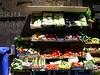 Vegetable market in Florence.