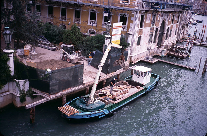 Construction boat
