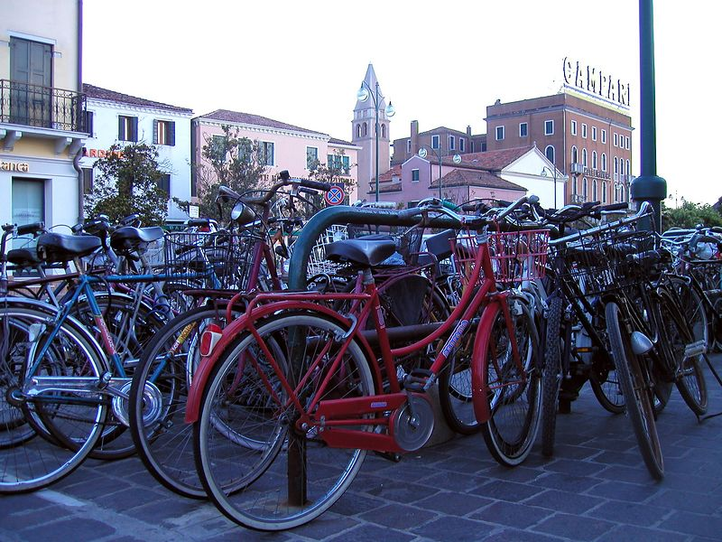 Italy – Land of Bicycles State of the art racing bikes and vintage antiques – not much in between