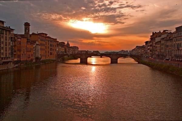 Florence Sunset-5c