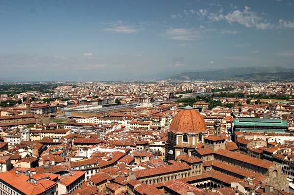 Florence Skyline-Train Station