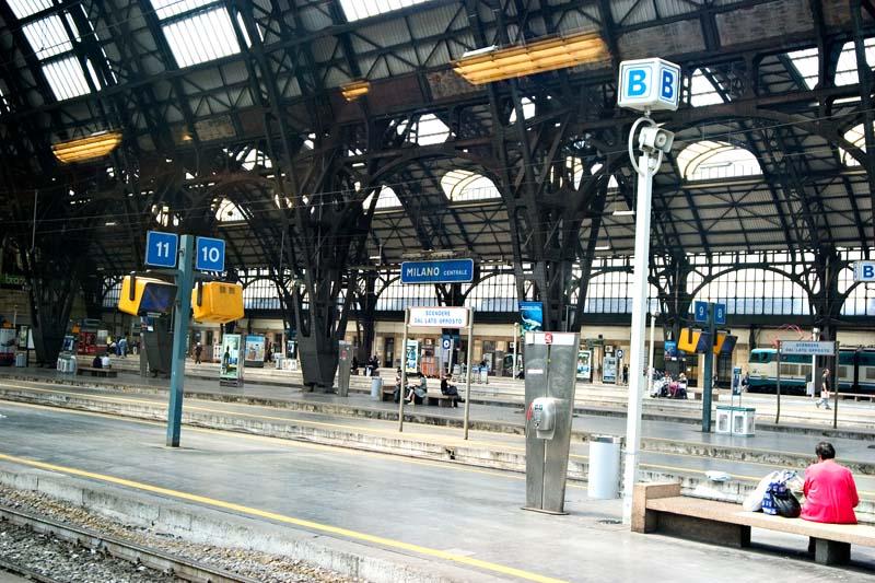 Arrive de Milano