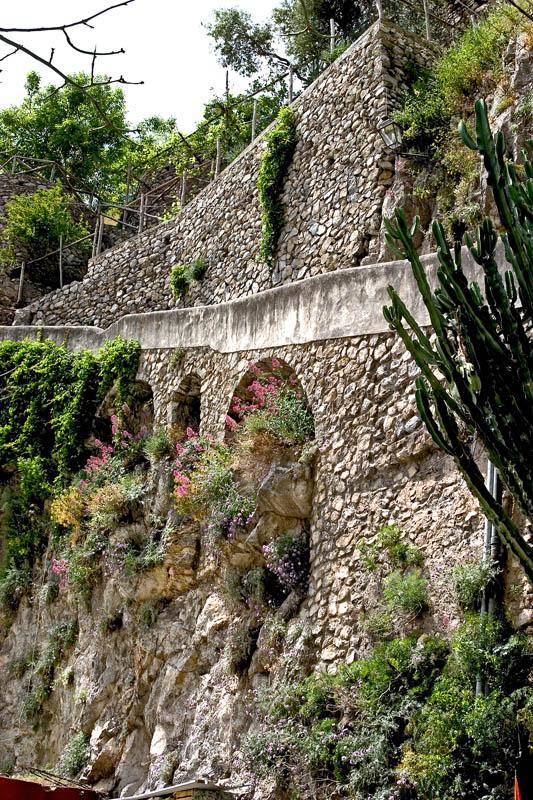 Hillside Walkway-Positano