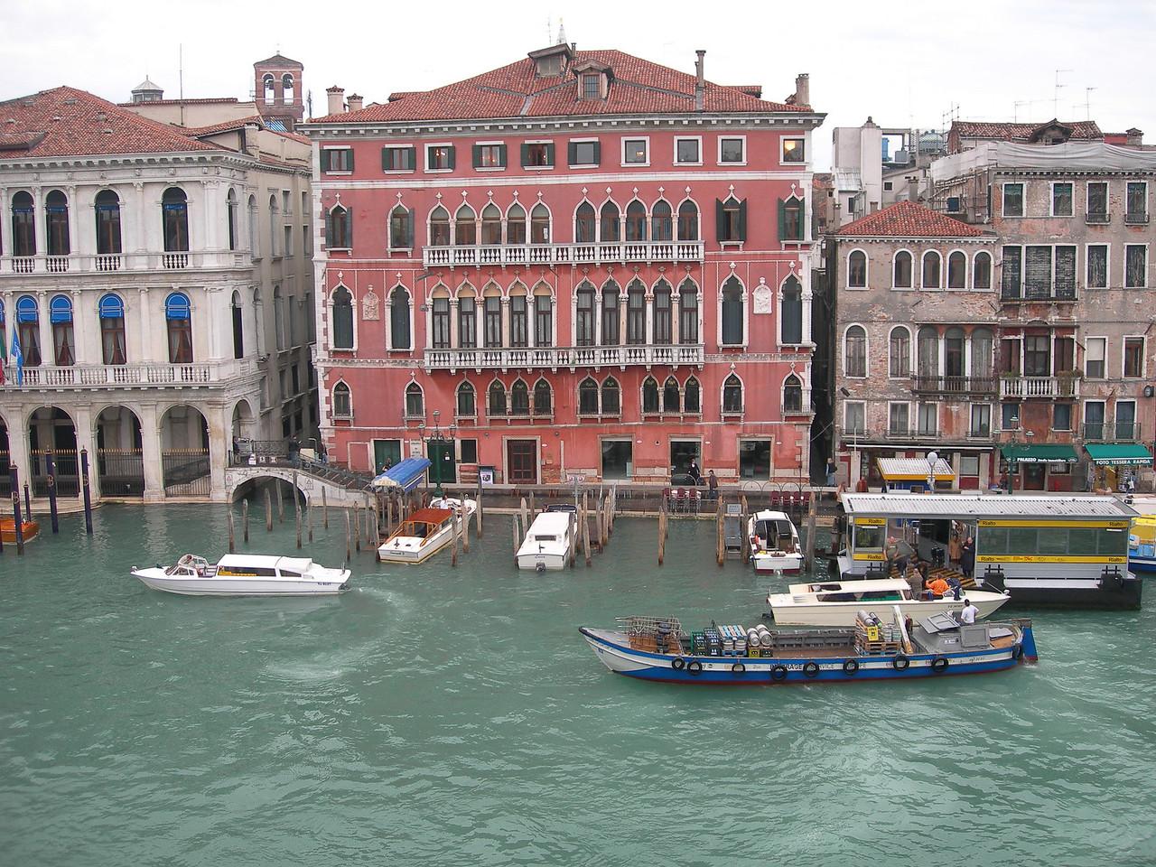 Venice hotel view - straight