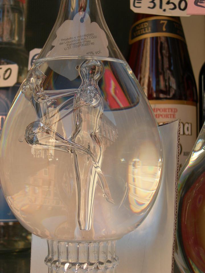 Grappa bottle