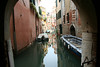 Venice - reflections of a quiet canal.
