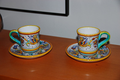 Espresso cups from Florence
