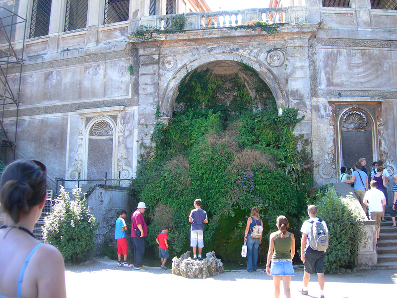 Fountain below the Orti Farnesiani (Farnese Gardens)