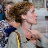 Our tour guide Karen at St. Peter's Basilica