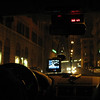 The view from our cab on the wild drive to our hotel in Rome.