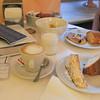 Breakfast at the Hotel Villa del Parco.