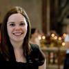 Sarah in St. Peter's Basilica.