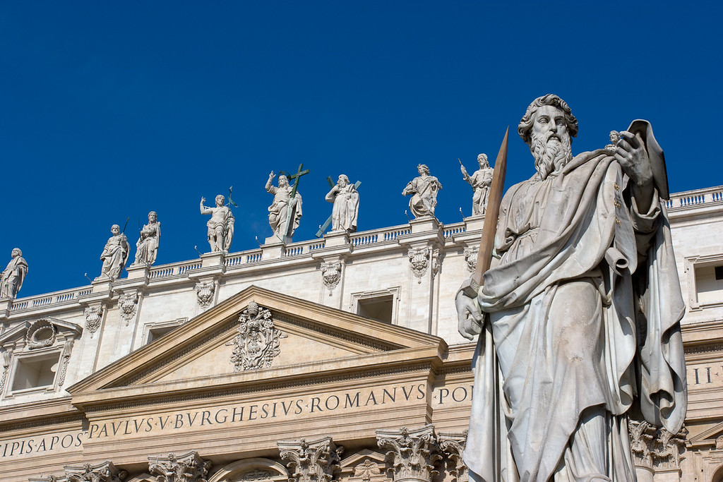 Saint Peters Basilica, Rome.