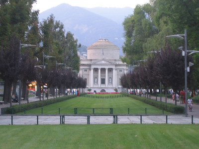 Volta Temple in Lake Como is now a museum devoted to Alessandro Volta, an Italian physicist who invented the electric battery in 1800.