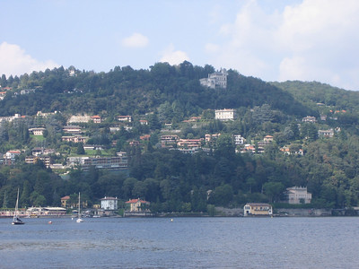 After Milan, our next journey was to the little town of Como on Lake Como.