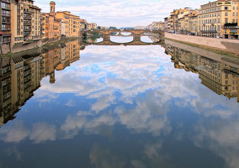 Ponte Santa Trinita taken from the Ponte Vecchio