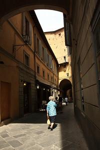 Sienna, Italy - Pedestrian Street