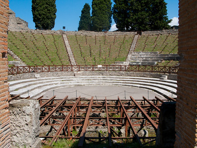 Theater at Pompeii