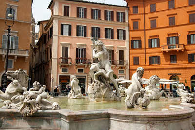 Fountain of Neptune - Piazza Navona - Rome