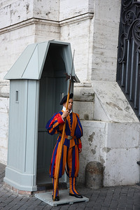 Vatican City, Rome, Italy - Swiss Guard