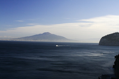 Vesuvius from the hotel