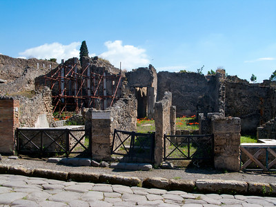 Houses in Pompeii