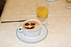 Daily cappuccino at Hotel Alessandra