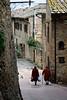Street scene, San Gimignano