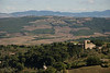Views from La Fortezza in Montalcino, the further city in our driving that day.