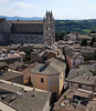 View from the cathedral from Orvieto's available tower.