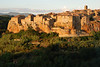 The whole point of the day's agenda was to be able to capture Pitigliano in sidelight.