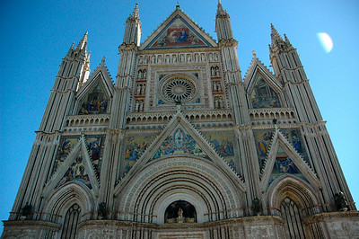 Orvieto and Siena