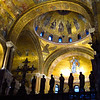 "Venice:  St. Mark's.  An international delegation arrived as we were touring St. Mark's.  To show the delegation the cathedral, they turned the lights on for a brief 4 or 5 minutes.  They started.taking pictures so our tour guide said.. ""You can take pictures too!""  This was an exceptional opportunity."