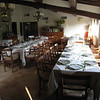 Castiglione d'Orcia / Siena - The dining and breakfast area of Hotel Osteria dell'Orcia.