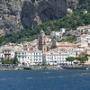 Amalfi, including the cathedral of Saint Andrew in the center.
