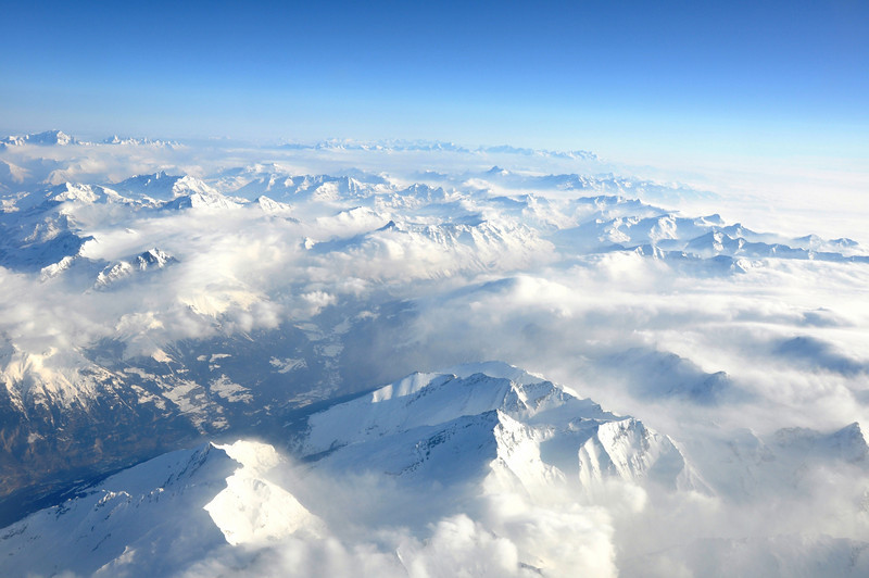 March 2010 Over the Alps