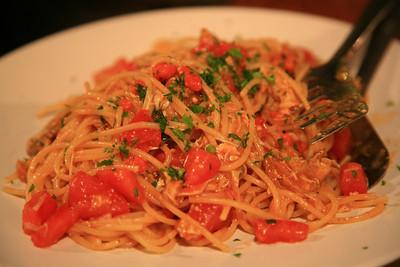 Best pasta ever - in Venice.