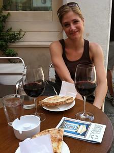 First day in Venice - the red wine marathon has begun.