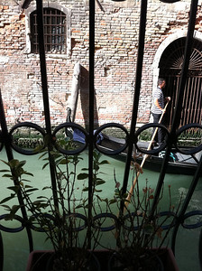 What a terrible room we had at Santa Marina in Venice -- facing such a busy street.