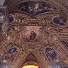 Mosaic ceiling of the Church of Santa Maria Maggiore.
