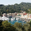 Liguria - Portofino.  A slightly different view of the scene in the previous photo.