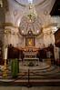 Interior of Positano's Duomo.