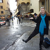 My Christmas boots, Christmas Eve, Florence, Ponte Vecchio, gift from Pat