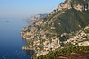 You can see just a portion of Positano below.