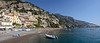Stitch of Positano's main beach