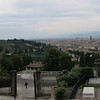 Lousy panorama shot of Florence from San Minato church.