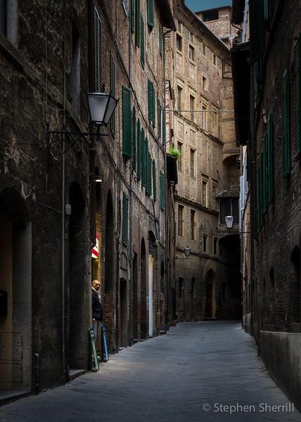 Siena morning, Italy