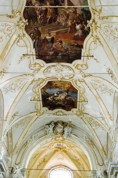 Ceiling of Chiesa di San Sebastiano